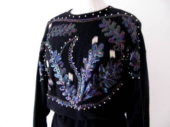 Wool dress -  dress Made in Italy - Knit dress - K
