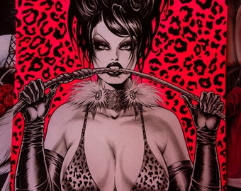 Sexy Cartoon Diva Etsy