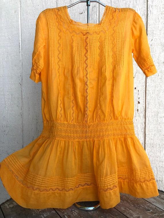 Antique Heirloom Edwardian Toddler Dress