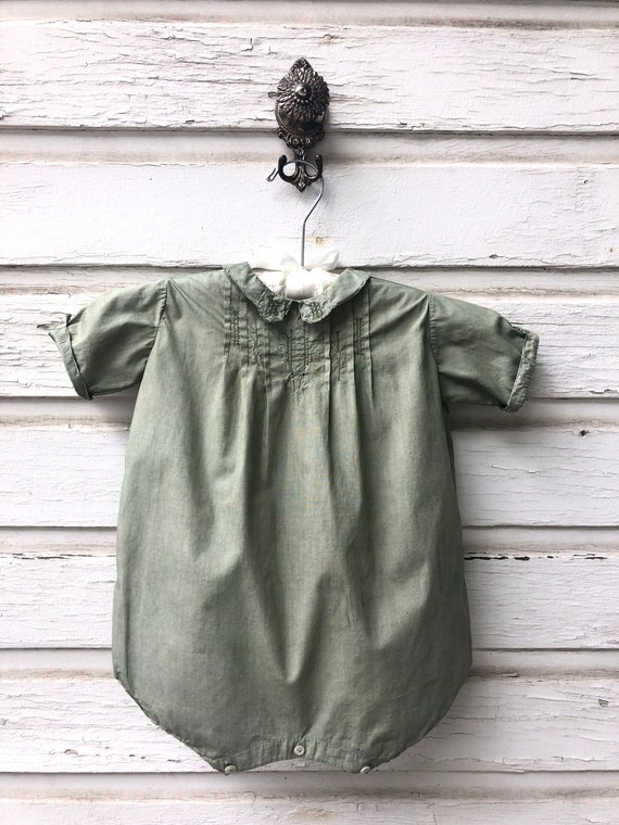 Antique Heirloom French Baby Onesie
