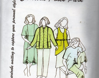 Park Bench Pattern Co #15 CAROLINA PINES PARK Dress/Tops/Jacket/Skirt/Pants