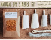 Natural Dye Starter Kit, Osage Orange Wood Chips, Botanical Dye, Recipe Included, Osage Orange, DIY Dye Kit