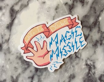 Magic Missile sticker