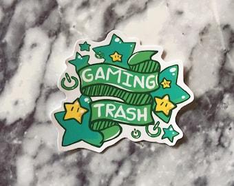 Gaming Trash sticker