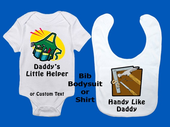 Nacido to Go Carreras with My Daddy Personalizado De Manga Larga bebé Camisetas