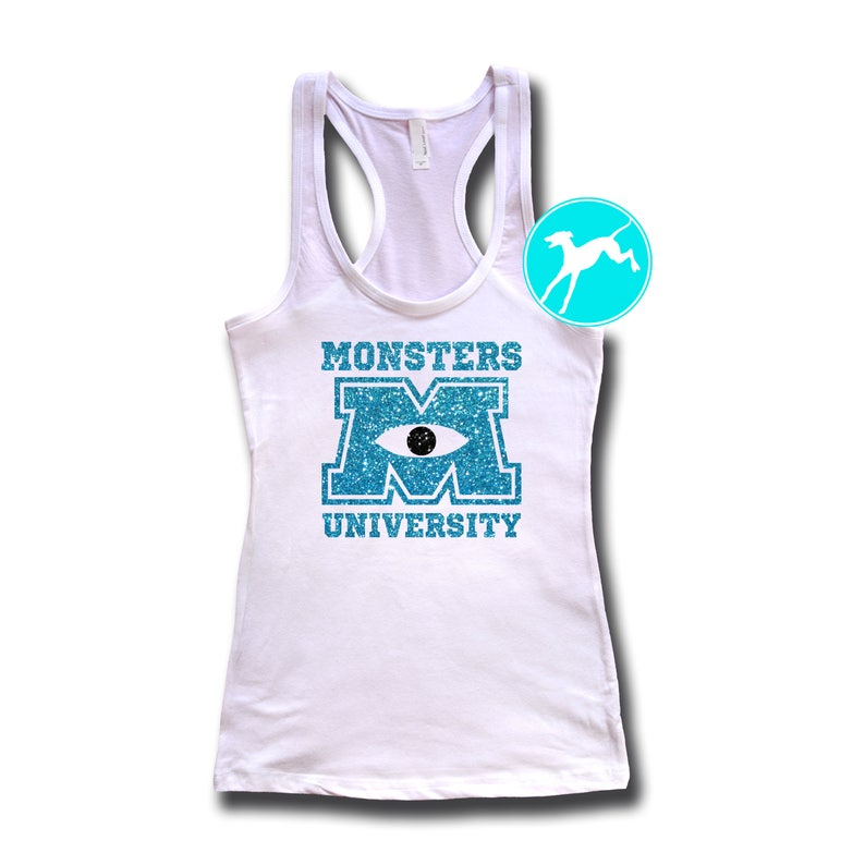 fcdcb608 Disney monster university Glitter vacation college mike sully | Etsy