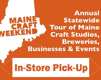 FOR VENDORS: Sign + Stakes Pick-up at Center for Maine Craft