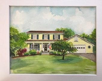 Custom House Portrait