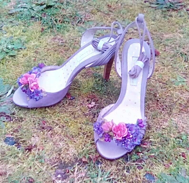 73eaf39382fd3b Chaussons fée Heather couleur chaussures de mariage rose et | Etsy