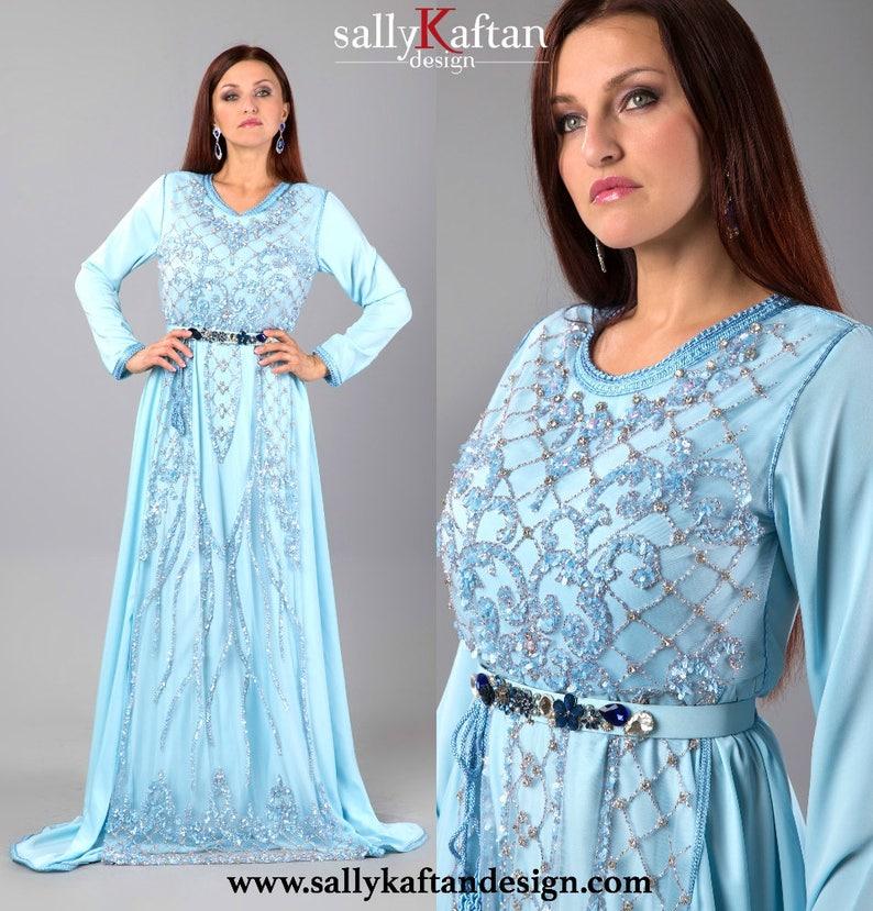 2a7905f5fa Chic ''Layla'' Moroccan Kaftan/caftan   Etsy