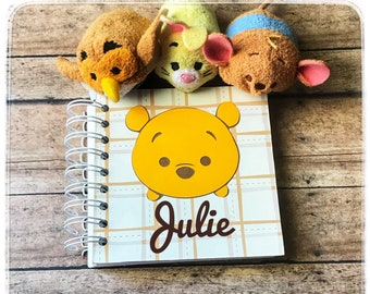 Disney Winnie the Pooh Autograph Book | Tsum Tsum | Vacation | Travel | Scrapbook | Character