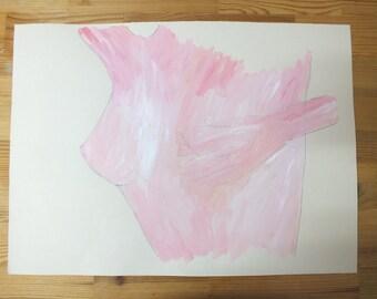 Nude (A3 original drawing)