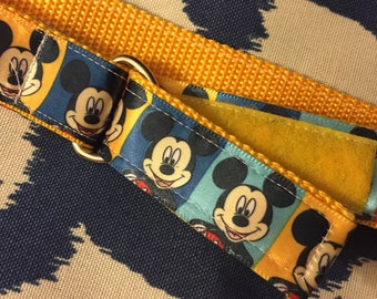 Child's Self-closing Belt: Mickey, size 2T-3T