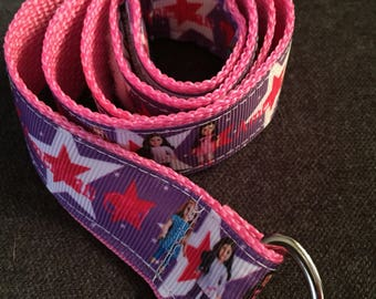 Child's Self-closing D-ring Belt: American Girl, size 5/6