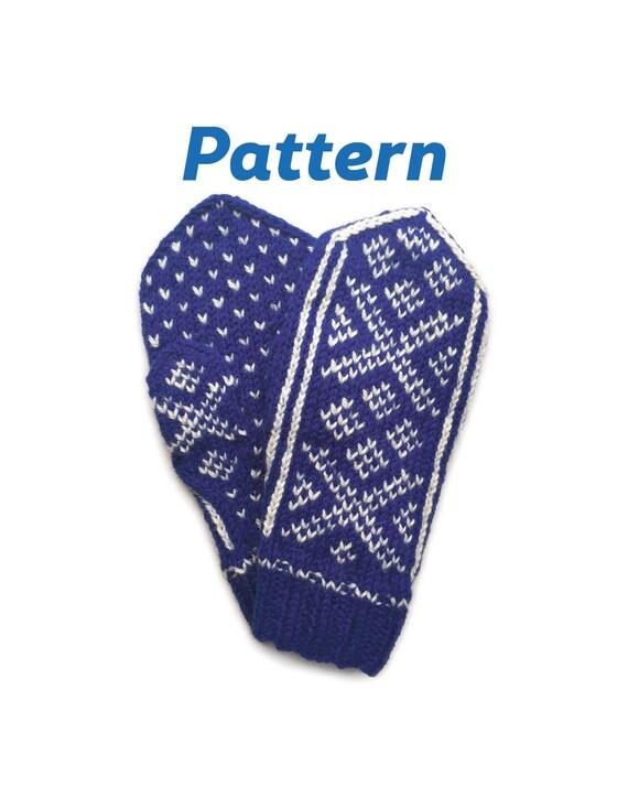 Mitten Knitting Pattern Marius Mittens Norwegian Knit