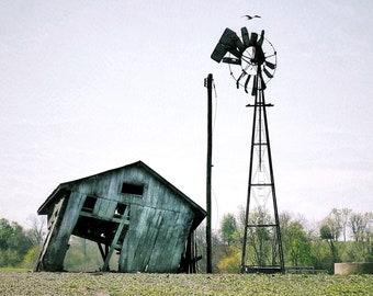Photography, Landscape Print, Farm Scene At Danville, Kentucky, 11 x 14 Photographic Print