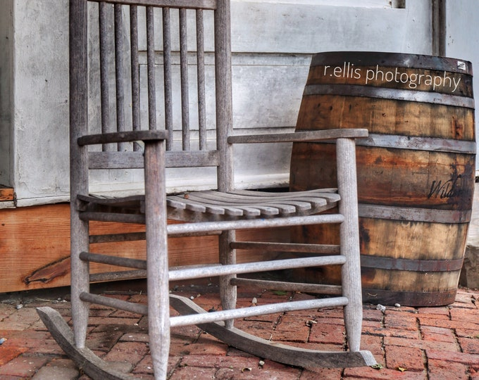 Photography, The Chair At Perryville, Kentucky, 11 x 14 Photographic Print