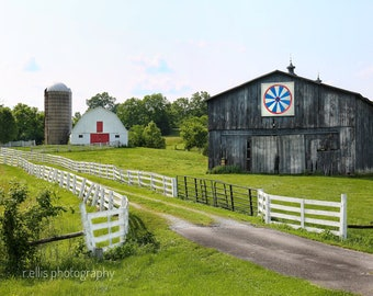 Photography, Scenic Farm Along Kentucky Highway 127, Country Print, 11 x 14 Inch Photographic Print