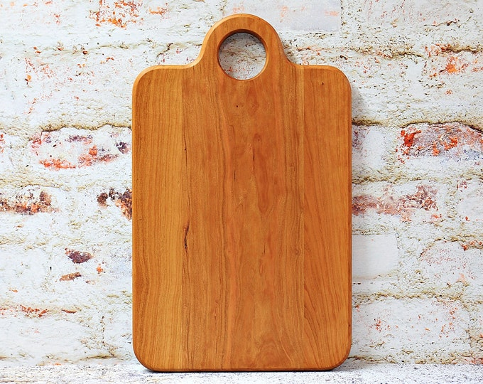 Cutting Board, Wood Cutting Board, Cheese Board, Wooden Cutting Board, Cherry Wood