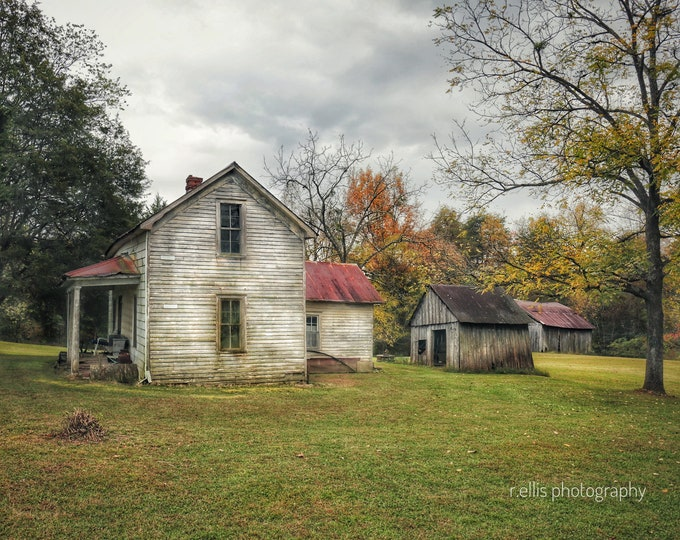 Photography, Rural Kentucky Country Homestead, Photographic Print