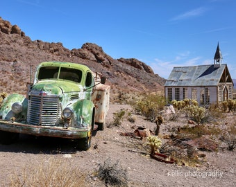 Photography, Wall Decor, : Western Ghost Town, Nelson, Nevada, 11 x 14 Inch Photographic Print