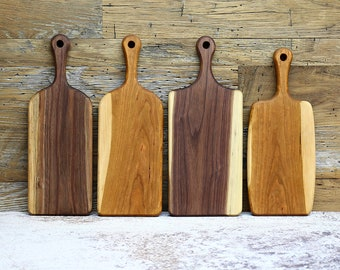 SALE, PRICE REDUCED! Cutting Board, Wooden Cutting Board, Wood Cutting Board, Walnut or Cherry Wood