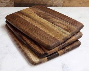 Wood Cutting Board, Medium Size, Walnut Wood