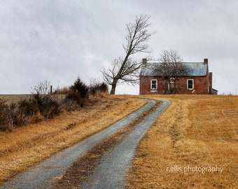 Photography, Landscape Print, Title: The High Plains Of Kentucky, 11 x 14 Photographic Print