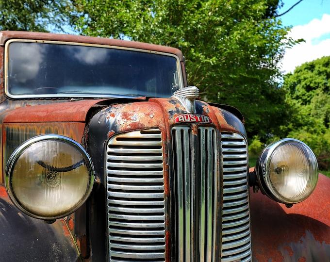 Photography, Antique Austin Up Close