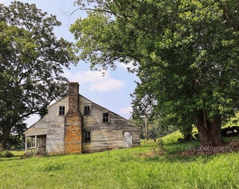 Photography, Farmhouse Scene In Rural Kentucky, Photographic Print, 11 x 14 Inches