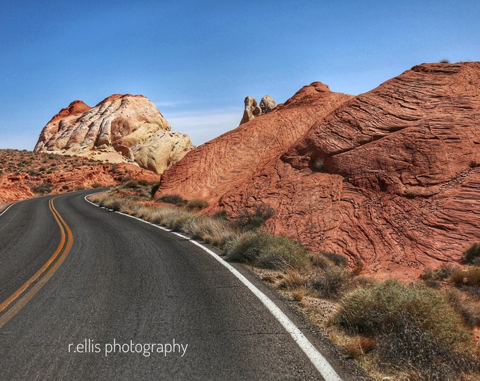 Photography, Wall Decor:  Valley Of Fire, Nevada, 11x14 Inch Photographic Print