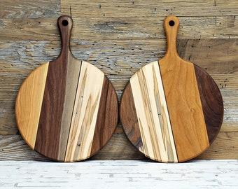 Wood Cutting Board, Ambrosia Maple, Cherry and Walnut Wood