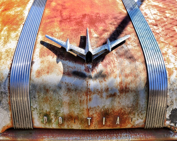 Photography, Old Pontiac Basking in the Sun