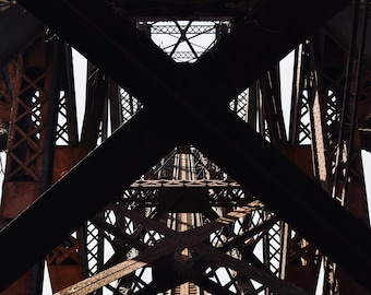 Cleveland Jackknife Bridge - 8x10