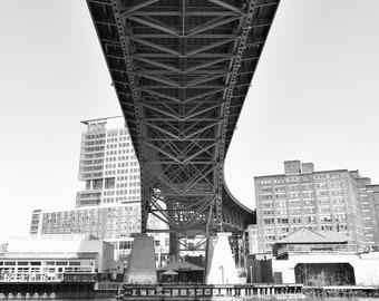 Main Avenue Bridge - 8x10 Photo