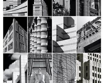Cleveland in Black & White  -  8x10 Photo