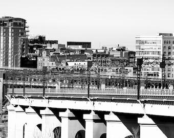 Union Terminal Viaduct & Warehouse District - 8x10 Print