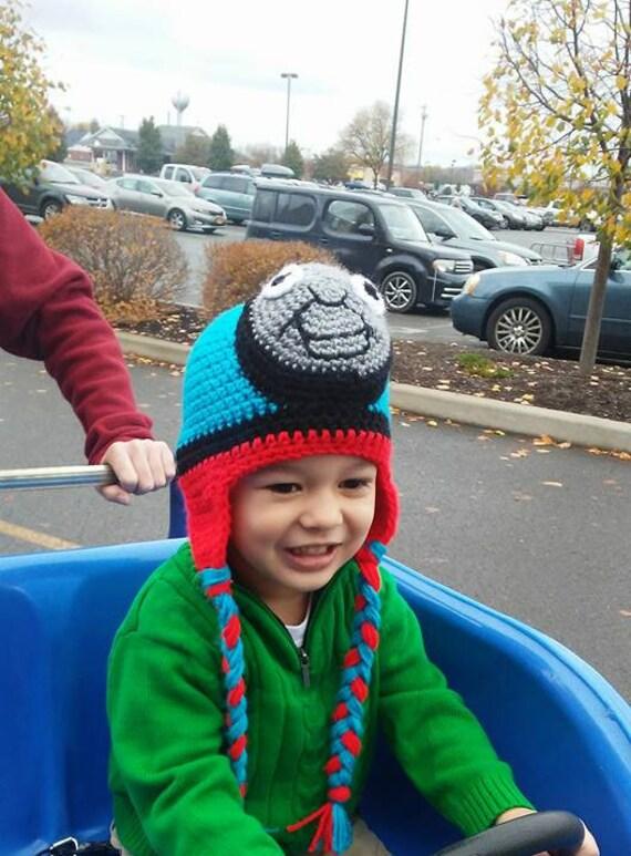 Baby Thomas der Zug-Hut Thomas die Lokomotive häkeln Thomas | Etsy