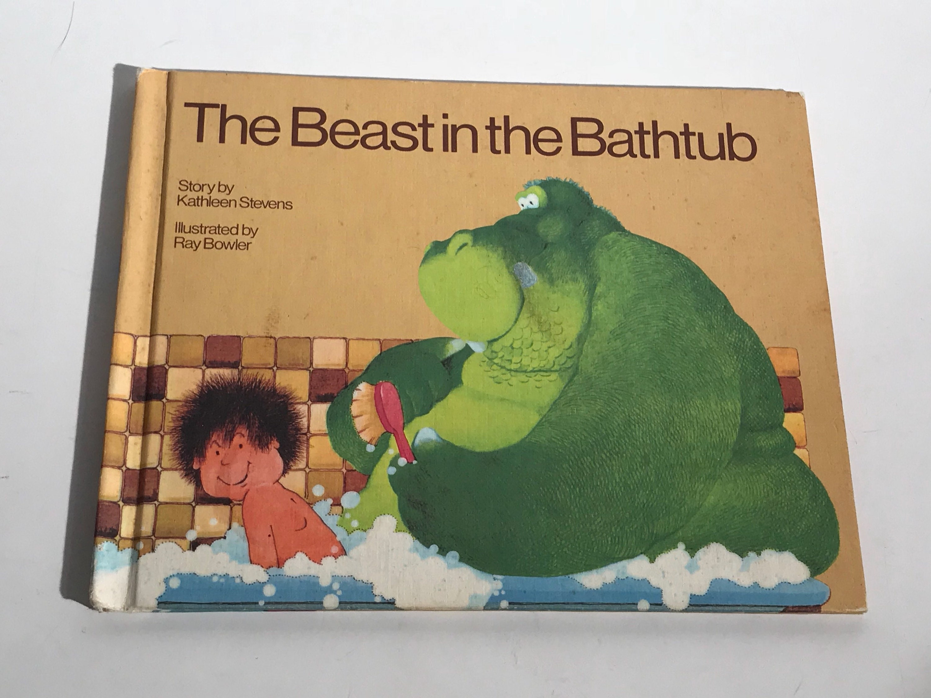 1983 the beast in the bathtub by kathleen stevens illustrated