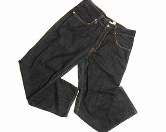 Early 00s Rocawear Vintage / Regular Fit Jeans / Denim Jeans / Wide Leg / Size 36W /  Pants / Heavy Duty Denim / Mens Bottoms