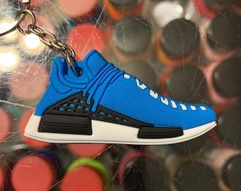 c06b1b51a 2016 Adidas NMD PW Human Race Sharp Blue 2D Keychain