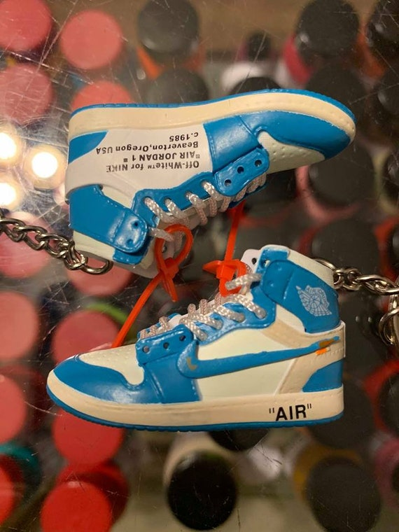 nike air force 1 high white and blue