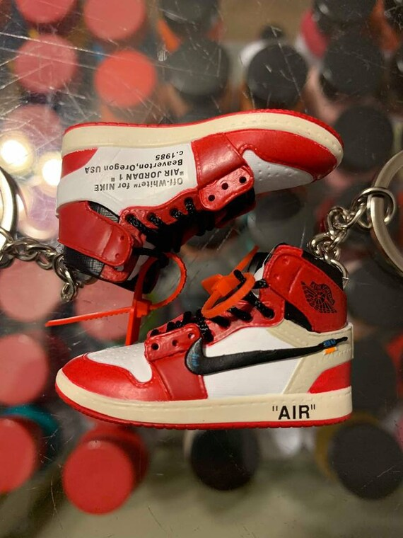 2018 Nike The 10 Off White Air Force 1 High Chicago 3d Etsy