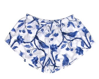 Biasa Pajama Shorts - BLUEBIRD - Code: P005