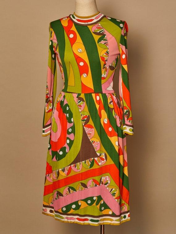 Vintage Emilio Pucci Silk Jersey Dress