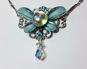 Navi the fairy inspired necklace