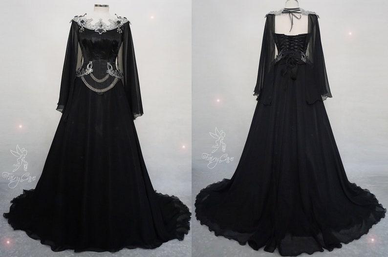 d3299afc811d Dark elf dress gothic dress gothic wedding dress gothic | Etsy