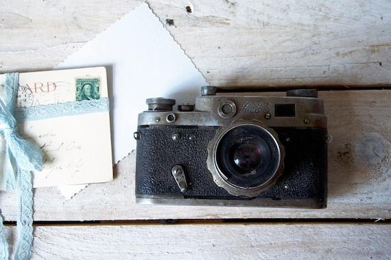 Vintage film camera, FED 3 camera, ФЭД 3 , Lomography camera, Photo camera, Rollfilm camera, Film camera, Camera collection