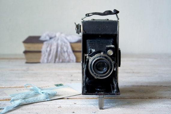 Vintage camera AGFA BILLY RECORD, Folding camera, Lomography camera, Photo camera, Rollfilm camera, Film photography, Photography props