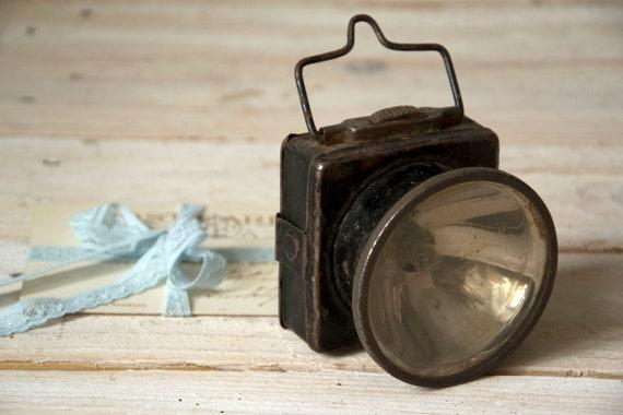 Vintage Lampe De Poche Vieille Lampe De Poche Lanterne Rustique